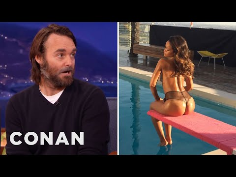 Was Will Forte's Diving Board Toilet Inspired By Rihanna?  - CONAN on TBS