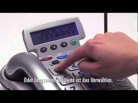Notfallschutztelefon mit Funksendern (Geemarc CL600)