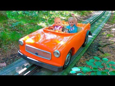 Кукла Беби Бон и Настя КАК МАМА играем вместе в парке Влог для детей Baby Born Doll Fun Playtime