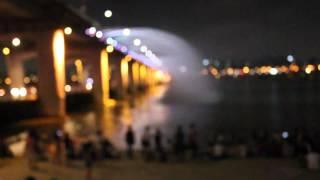 Моя Корея!(август,2013)) Радужный мост - фонтан