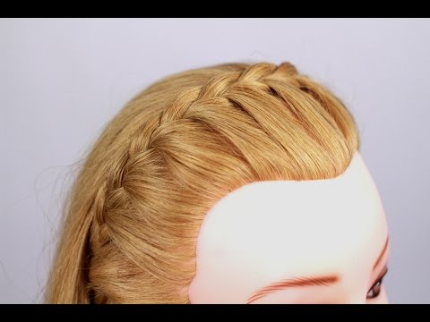 Косичка - ободок. Headband Braid