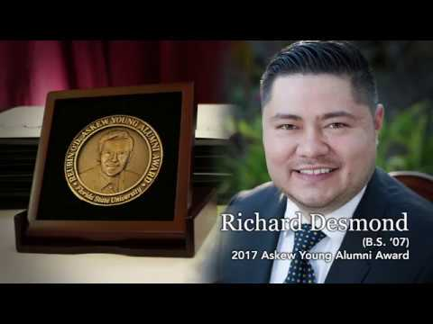 Askew Young Alumni Award 2017  Richard Desmond