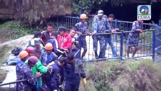 पोखराको (Devid Falls) पातले छागोमा खसेका व्यक्तिको उद्दार कसरी गरि[Hemraj Adhikari  FEWA TELEVISION