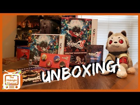 Persona Q2 Limited Edition Unboxing