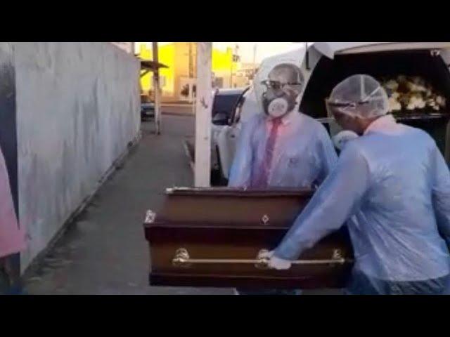 FAMILIARES SOFREM PARA ENTERRAR MULHER EM PEDRAS DE FOGO