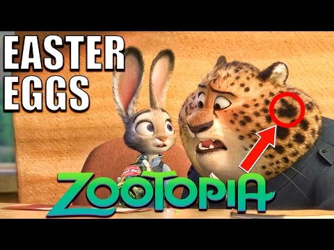 103 Easter Eggs of ZOOTOPIA You Didn't Notice