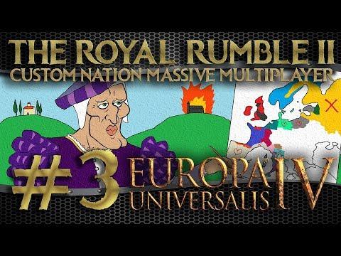 🔴 LIVE #3: Europa Universalis IV | Custom Nation Challenge | Royal Rumble II
