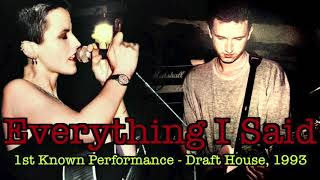 New! Everything I Said - 1st Known Performance w/ Enhanced Audio, Draft House '93 (The Cranberries)