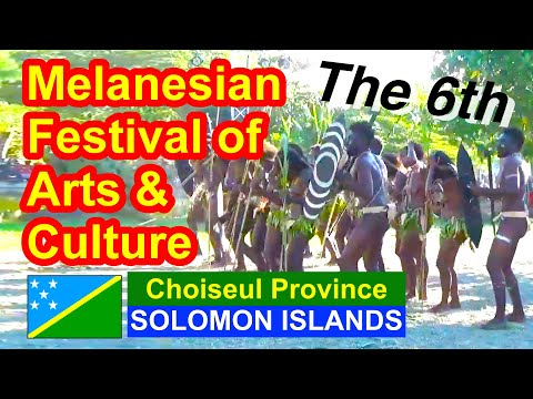 Choiseul Province, Solomon Islands, 6th Melanesian Festival of Arts and Culture