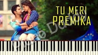 Premika (Dilwale) Piano Tutorial | Notes | Sheet Music | Midi ~ Piano Daddy