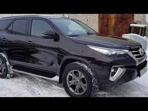 Видеоотчет по ремонту автомобиля Toyota Fortuner | АВТОСЕРВИС «POKRASKA TUT» АРХАНГЕЛЬСК