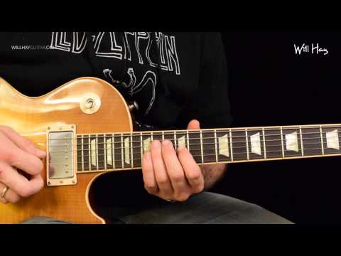 Good Times Bad Times Led Zeppelin Solo full tutorial HD