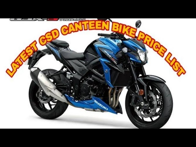 CSD Canteen bike price 2019