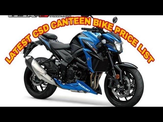 CSD Canteen bike price 2019
