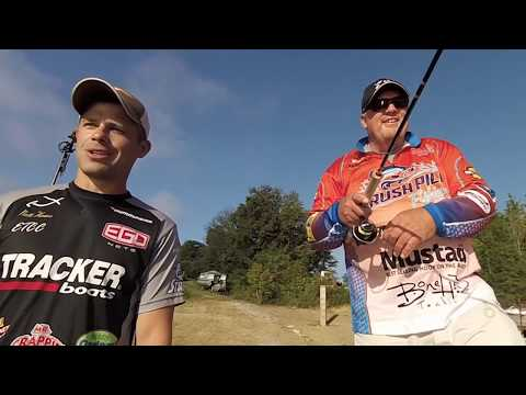 Jigging For Huge Crappie On Douglas Lake, Tennessee (Matt Xenos And Russ Bailey)