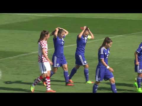 Ženska U17 reprezentacija BiH vs Hrvatska - Zenica, 25.08.2017.