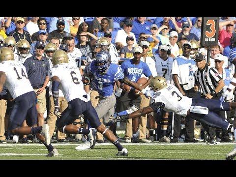 Football Highlights - Memphis 30, Navy 27