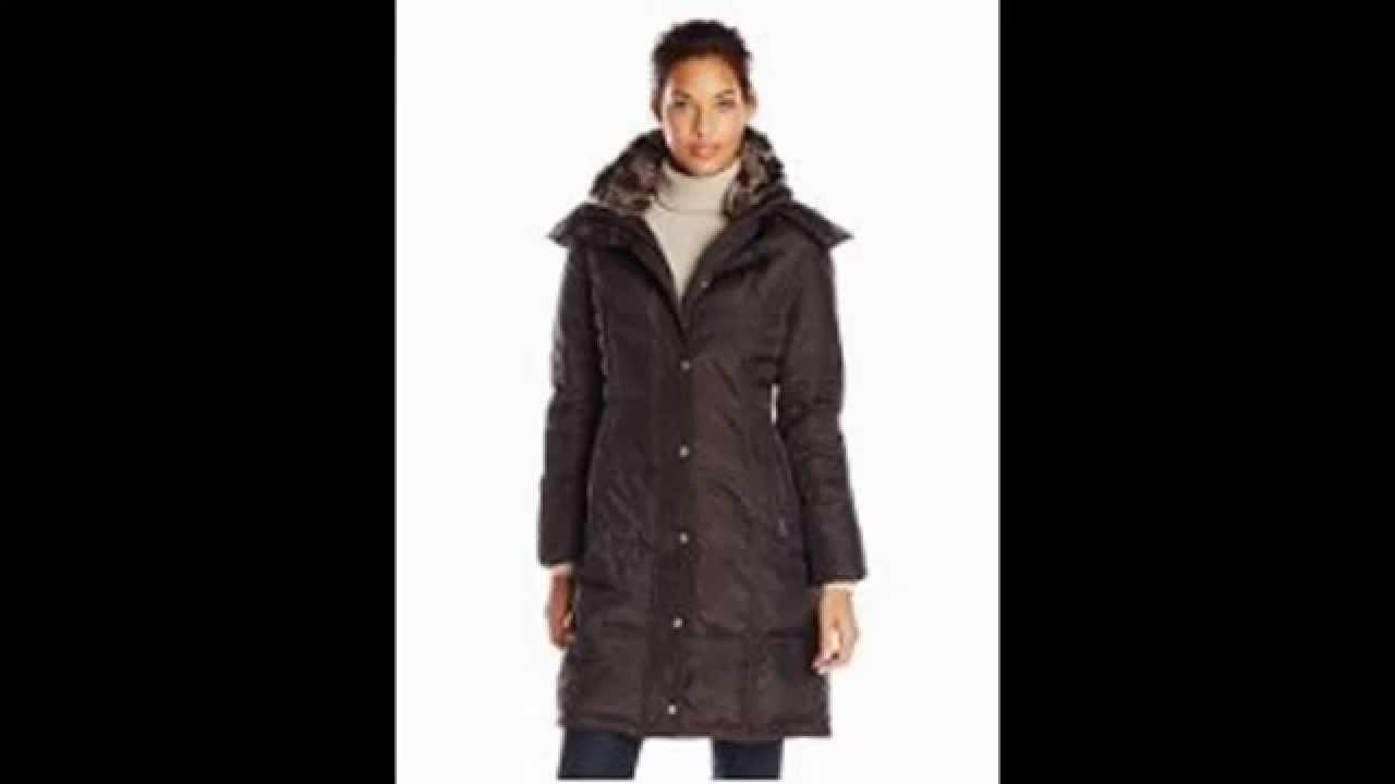 Down Coat | London Fog Women's Chevron Maxi Review - YouTube