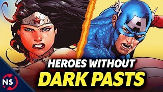 4 Comic Book Superheroes Without a Dark Past (Kind of) || NerdSync