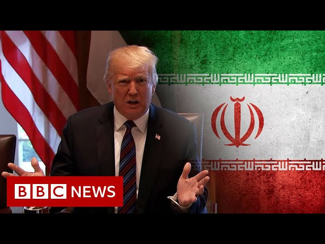 Why are the US and Iran falling out now? - BBC News