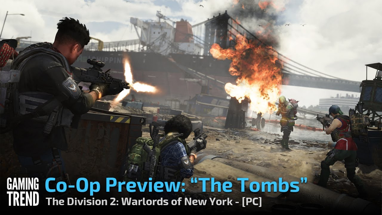 The Division 2 Warlords of New York - The Tombs Gameplay - PC [Gaming Trend]