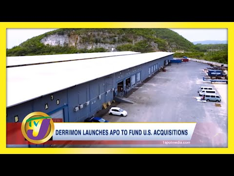 Jamaican Owned Derrimon Launches APO to Fund U.S. Acquisitions   TVJ News