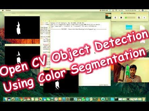 OpenCV Object Detection in Python - Using Color segmentation (Tutorial)