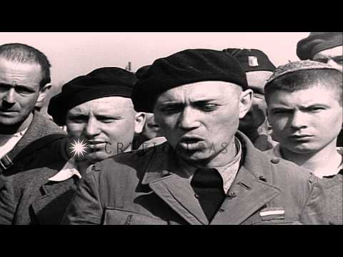 Dutch Jewish internee of Buchenwald concentration camp interviewed in Germany. HD Stock Footage