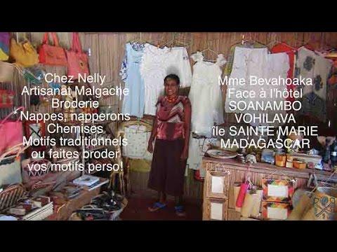 Les Secrets de la broderie Malgache chez Nelly, Île Sainte Marie