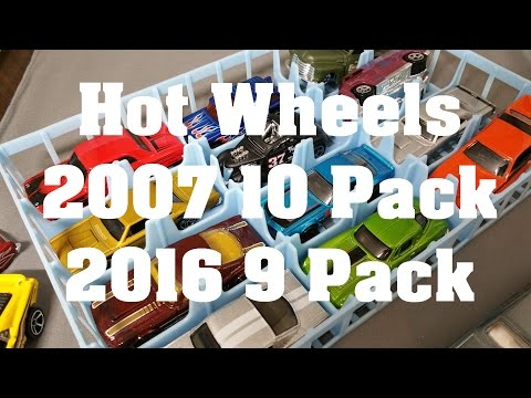 Hot Wheels Multi Packs New and Older too - Video No.120 - June 23rd, 2016