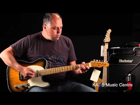 KAOS Gear Demo - Nash Guitars TC-63