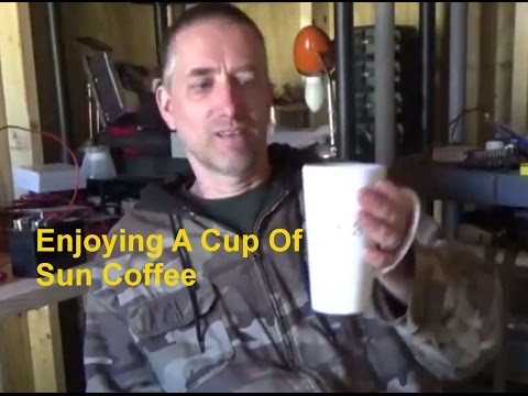 Sun Coffee ~ Brewing Coffee By The Power Of The Sun