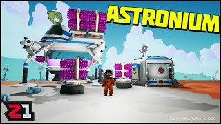 Going to the CORE of RADIATED ! UNLIMITED ASTRONIUM ! 200,000+ Bytes Astroneer | Z1 Gaming
