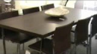 Dining Tables Contemporary Modern Dining Room Furniture Contemporary Buffets Dining Chairs Wood And Glass Dining Tables Store San Diego #1