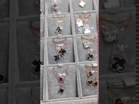 replica van cleef arpels alhambra necklace