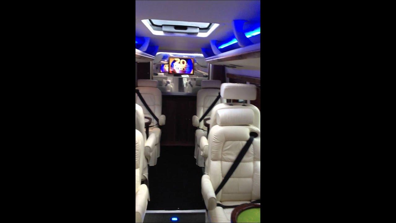 Mercedes Sprinter LWB extened luxury minibus 9 seat Coif 8 ...