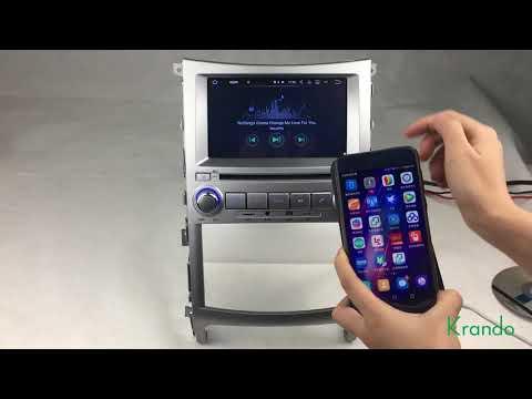 Krando Android 7.1 car radio navigation multimedia for hyundai ix55 veracruz 2006-2016 KD-HY755