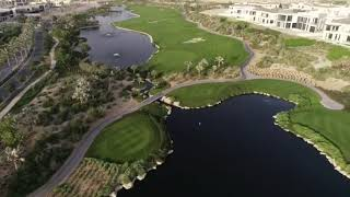 Dubai Hills Golf Club Drone