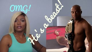 Clueless new mma fan reacts to MMA Beast Anderson Silva