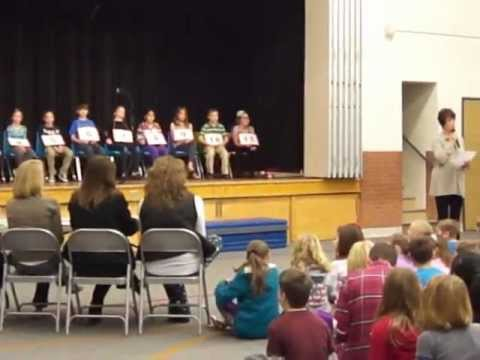Franklin Elementary School Denver Spelling Bee 2013 (part-1)