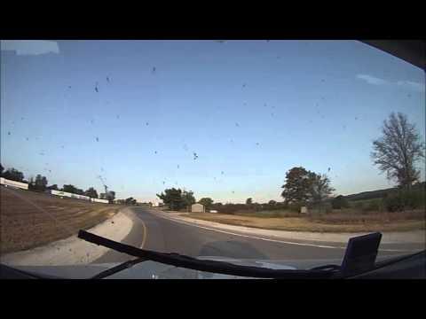 Hammer Down With Len Dubois Trucking - Trp 13 Prt 2 - Winnipeg Trucking Company Trip Video