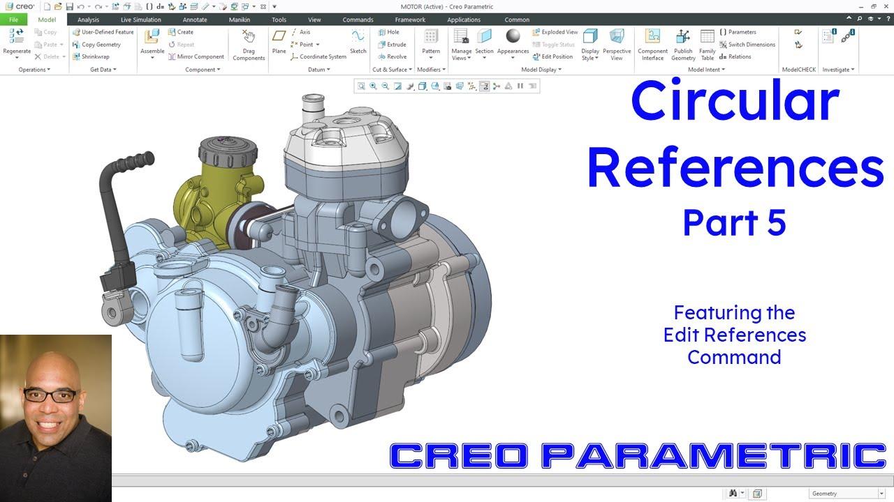 Creo Parametric - Circular References (Part 5)
