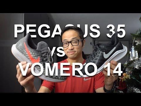 Pegasus 35 vs. Vomero 14