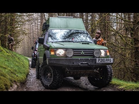 Mitsubishi Overland 4x4 Camper - THE FULL TOUR