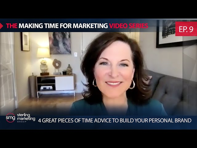 4 Great Pieces of Time AdviceTo Build Your Personal Brand