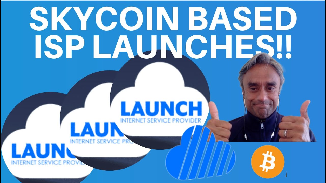 SKYCOIN BASED DECENTRALISED ISP LAUNCHES!