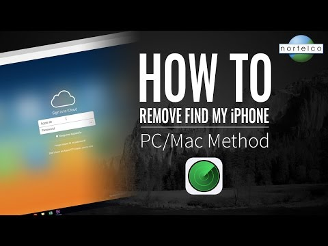 How To Remove 'Find My iPhone' - PC/Mac Method