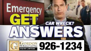 I Just Got Rear Ended  | Baton Rouge Personal Injury Lawyers - Gordon McKernan - Get Gordon!