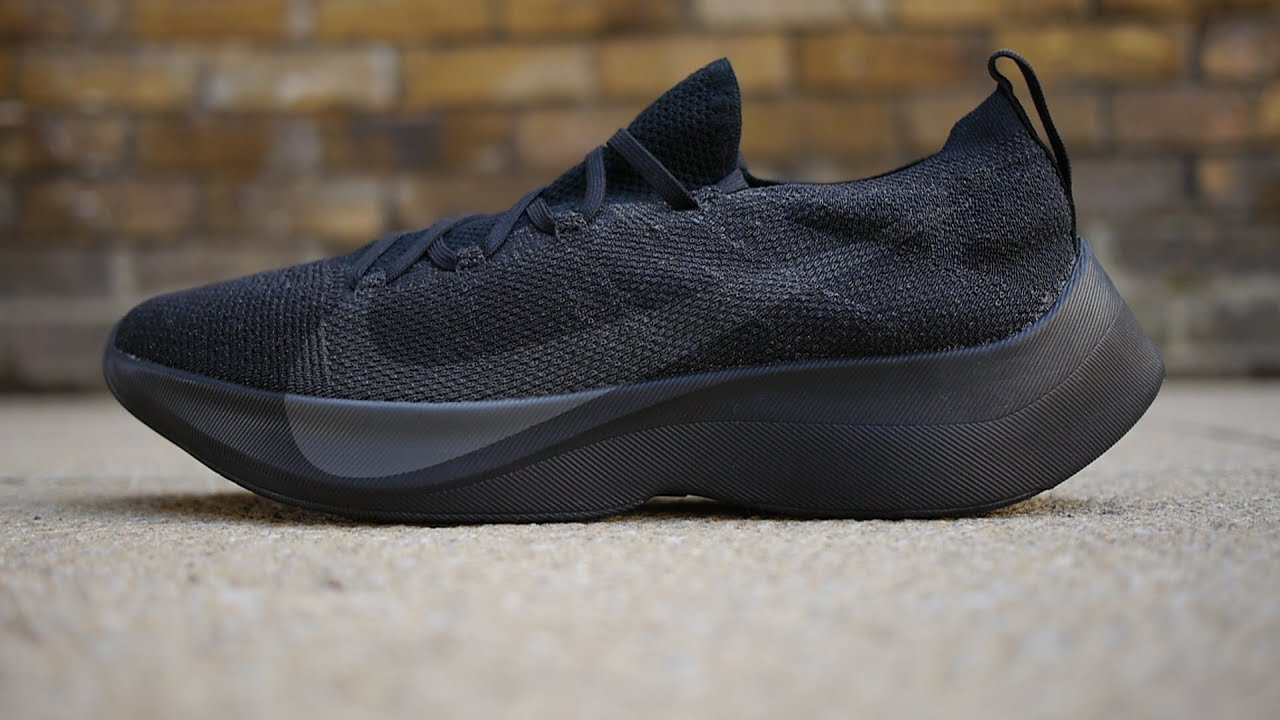 Nike Vapor Street Flyknit Quick Look & On Feet (Black/Anthracite)