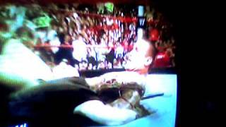 Randy orton kisses Tripple H wife